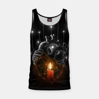 Thumbnail image of The Warmth  Tank Top, Live Heroes