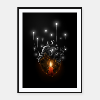 Thumbnail image of The Warmth  Framed poster, Live Heroes