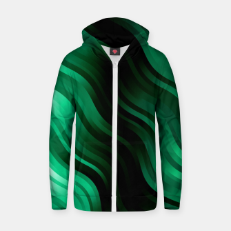 Thumbnail image of stripes wave pattern 7v2 magi Zip up hoodie, Live Heroes