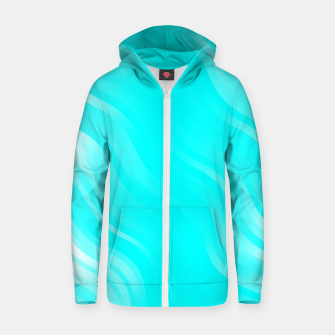 Thumbnail image of stripes wave pattern 7v2 chi Zip up hoodie, Live Heroes