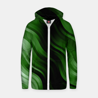 Thumbnail image of stripes wave pattern 7v2 ppi Zip up hoodie, Live Heroes