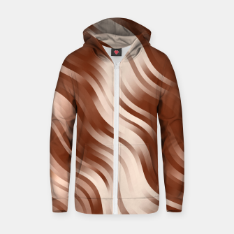 Thumbnail image of stripes wave pattern 7v2 co Zip up hoodie, Live Heroes