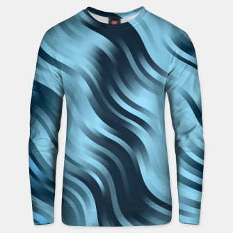 Thumbnail image of stripes wave pattern 7v2 coi Unisex sweater, Live Heroes