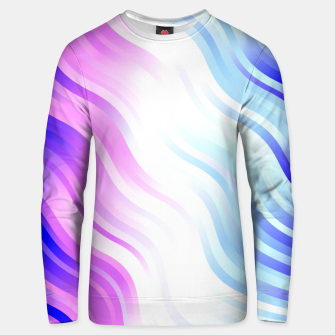 Thumbnail image of stripes wave pattern 7v2 db Unisex sweater, Live Heroes