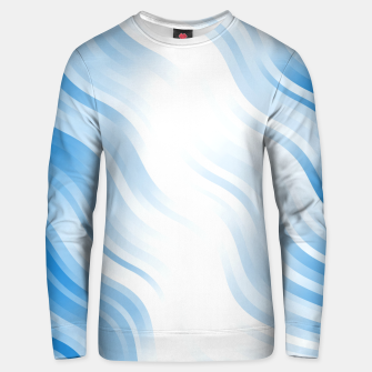 Thumbnail image of stripes wave pattern 7v2 wb Unisex sweater, Live Heroes