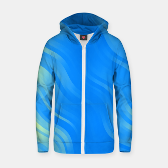 Thumbnail image of stripes wave pattern 7v2 voi Zip up hoodie, Live Heroes