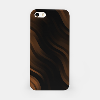 Thumbnail image of stripes wave pattern 7v2 wbi iPhone Case, Live Heroes