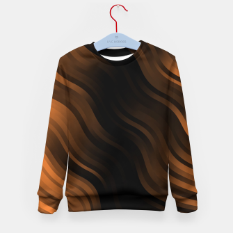 Thumbnail image of stripes wave pattern 7v2 wbi Kid's sweater, Live Heroes
