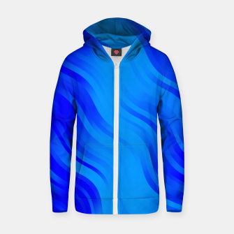 Thumbnail image of stripes wave pattern 7v2 yoi Zip up hoodie, Live Heroes