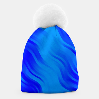Thumbnail image of stripes wave pattern 7v2 yoi Beanie, Live Heroes