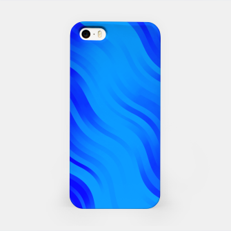 Thumbnail image of stripes wave pattern 7v2 yoi iPhone Case, Live Heroes