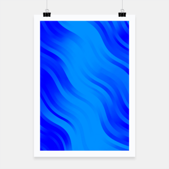 Thumbnail image of stripes wave pattern 7v2 yoi Poster, Live Heroes