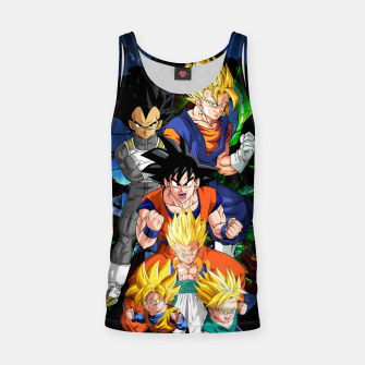 Miniaturka Dragon Ball Z - The Fusions Tank Top, Live Heroes