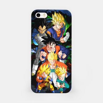 Miniatur Dragon Ball Z - The Fusions iPhone Case, Live Heroes