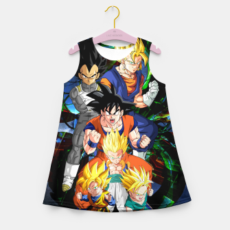 Miniatur Dragon Ball Z - The Fusions Girl's summer dress, Live Heroes
