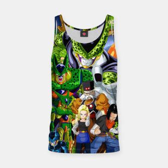Miniaturka Dragon Ball Z cell saga Tank Top, Live Heroes
