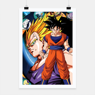 Miniatur DBZ Circle Poster, Live Heroes