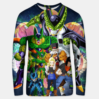 Thumbnail image of DBZ Androids Unisex sweater, Live Heroes