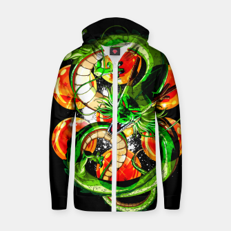 Thumbnail image of DBZ Shenron Zip up hoodie, Live Heroes