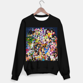 Thumbnail image of DBZ Characters Sweater regular, Live Heroes