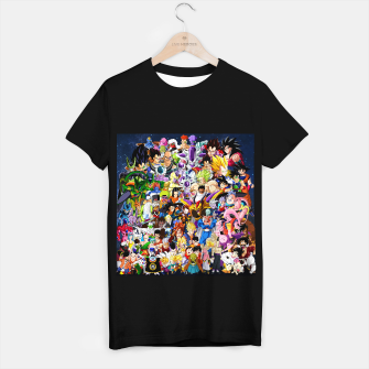 Thumbnail image of DBZ Characters T-shirt regular, Live Heroes
