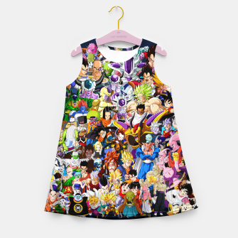 Thumbnail image of DBZ Characters Girl's summer dress, Live Heroes