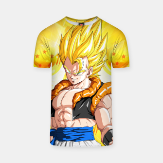 Miniatur Dragon Ball - Super Gogeta  T-shirt, Live Heroes