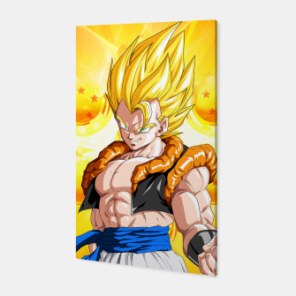 Miniatur Dragon Ball - Super Gogeta  Canvas, Live Heroes