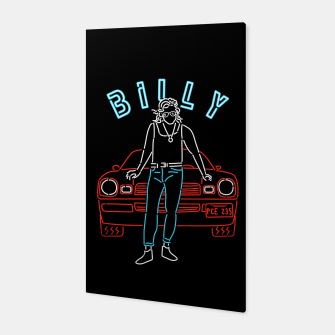 Billy Canvas Bild der Miniatur