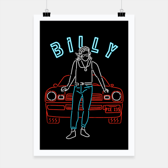 Thumbnail image of Billy Poster, Live Heroes