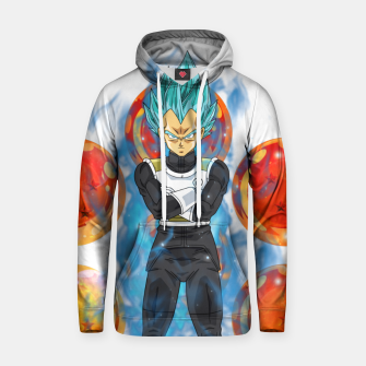 Thumbnail image of Dragon Ball Super Vegeta Super Saiyan Blue Hoodie, Live Heroes
