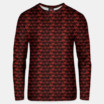 Thumbnail image of Red Dragon Doodles Unisex sweater, Live Heroes