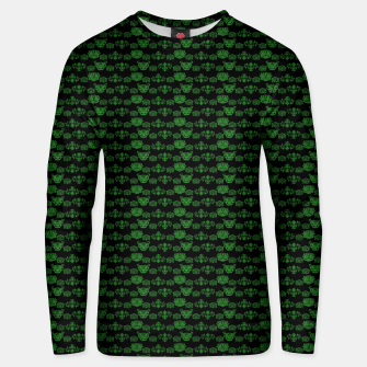 Thumbnail image of Green Dragons Doodles Unisex sweater, Live Heroes
