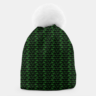 Thumbnail image of Green Dragons Doodles Beanie, Live Heroes