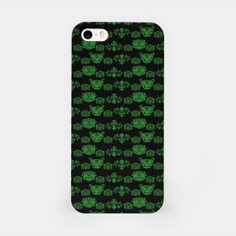 Thumbnail image of Green Dragons Doodles iPhone Case, Live Heroes