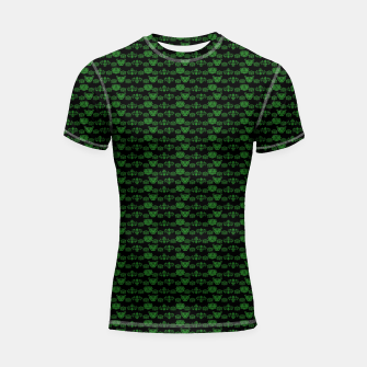 Thumbnail image of Green Dragons Doodles Shortsleeve rashguard, Live Heroes