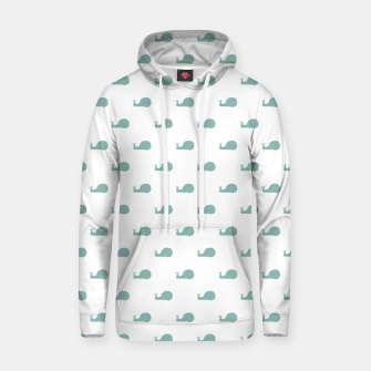 Thumbnail image of Snails Silhouette Drawing Pattern Hoodie, Live Heroes