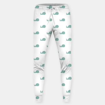Snails Silhouette Drawing Pattern Sweatpants Bild der Miniatur
