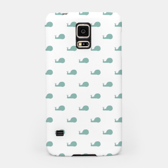 Thumbnail image of Snails Silhouette Drawing Pattern Samsung Case, Live Heroes