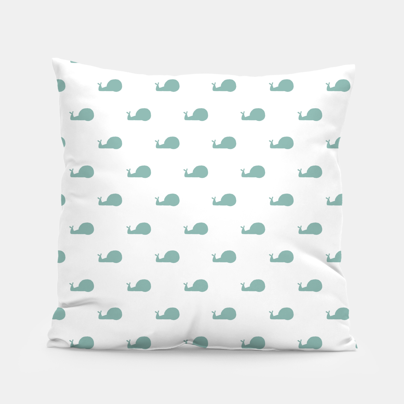 Foto Snails Silhouette Drawing Pattern Pillow - Live Heroes