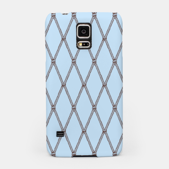 Thumbnail image of Nautical Fishing Net (Light Blue and Brown) Samsung Case, Live Heroes