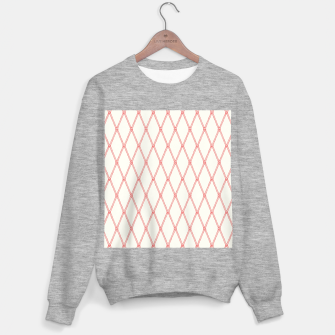 Thumbnail image of Nautical Fishing Net (Beige and Coral) Sweater regular, Live Heroes