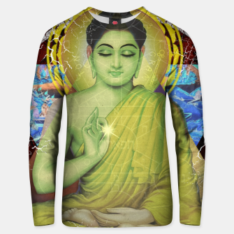 Thumbnail image of BUDDHA LOVE Unisex sweater, Live Heroes