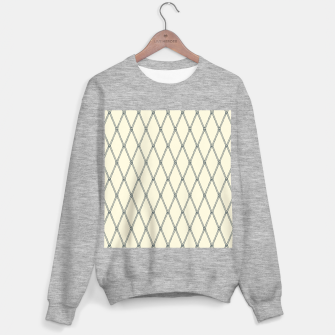 Thumbnail image of Nautical Fishing Net (Beige and Grey) Sweater regular, Live Heroes