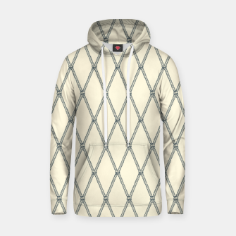 Thumbnail image of Nautical Fishing Net (Beige and Grey) Hoodie, Live Heroes