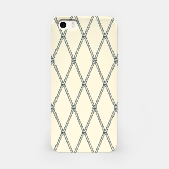 Thumbnail image of Nautical Fishing Net (Beige and Grey) iPhone Case, Live Heroes