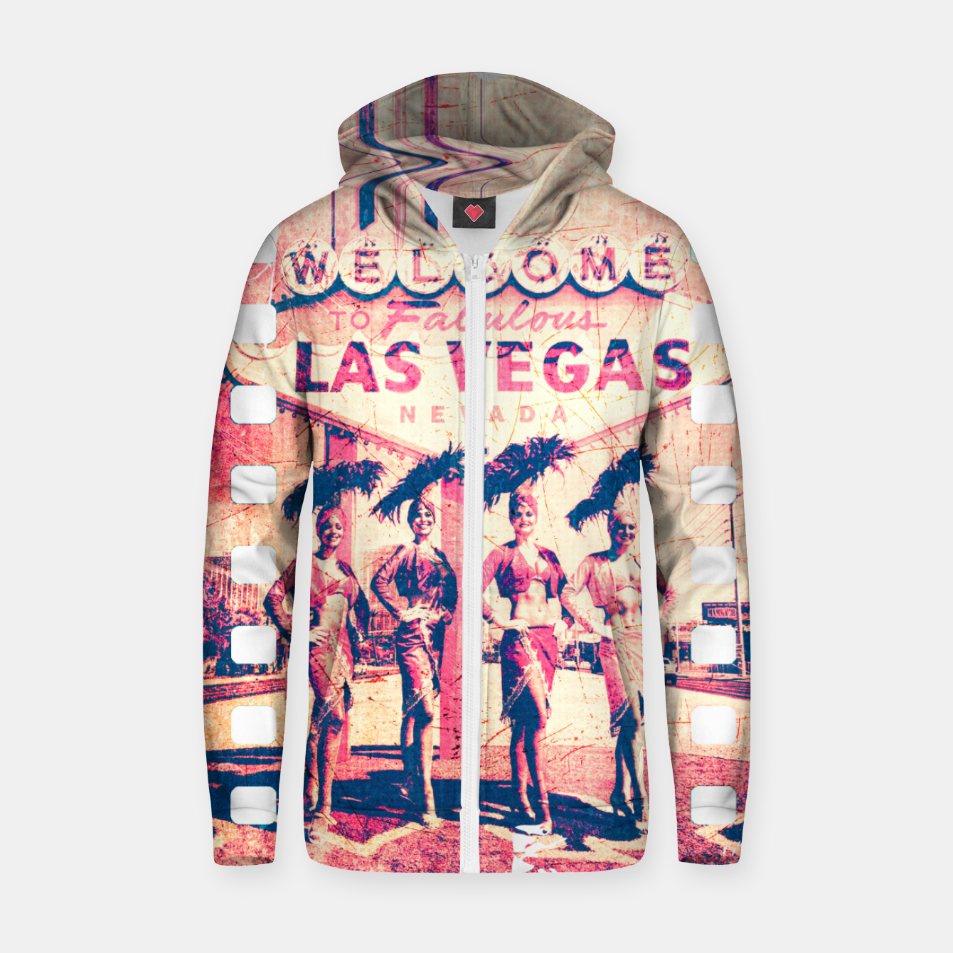 Image of Taboolous Las Vegas Zip up hoodie - Live Heroes
