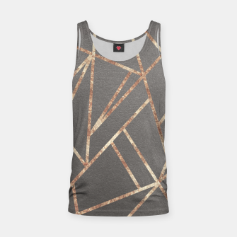 Thumbnail image of Classic Gray Rose Gold Geo #1 #geometric #decor #art Muskelshirt , Live Heroes