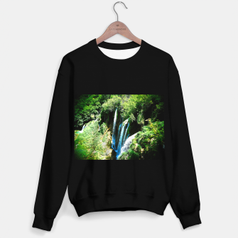 lower lake waterfall plitvice lakes national park croatia agfa Sweater regular thumbnail image