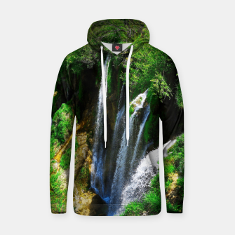 lower lake waterfall plitvice lakes national park croatia std Hoodie thumbnail image